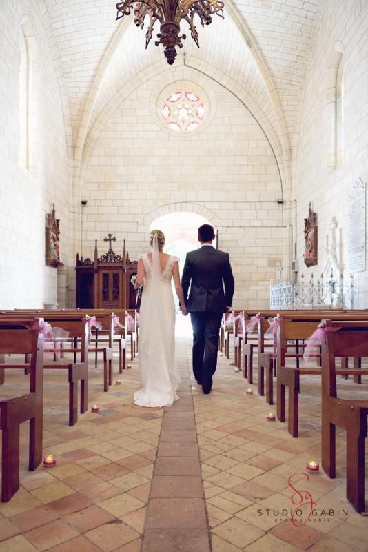 Mariage au Logis de Bournet avec Nathalie et Gautier en Charente