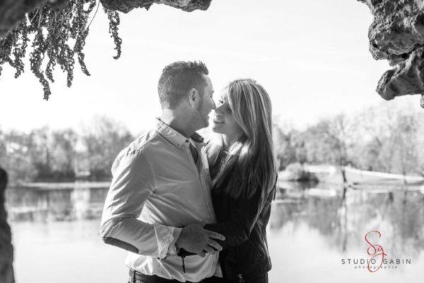 Studio Gabin | Séance photo de couple au Parc Majolan de Blanquefort