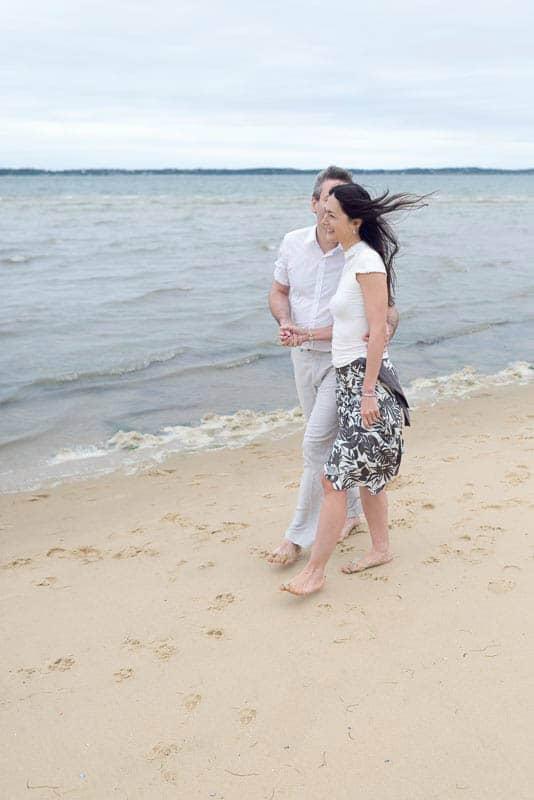 Séance photo de couple dans le Bassin d'Arcachon | Studio Gabin - Photographe