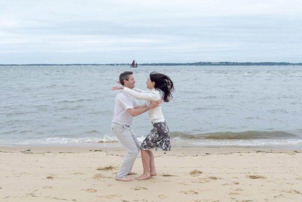 Studio Gabin | Séance photo de couple dans le Bassin d'Arcachon