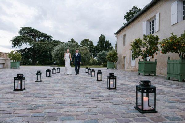 Studio Gabin | Région de Bordeaux : Mariage au Château Pape Clément