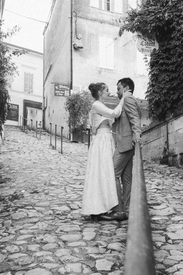 Studio Gabin | Reportage Abigaïl & Loïc : une love session inoubliable à Saint-Emilion !