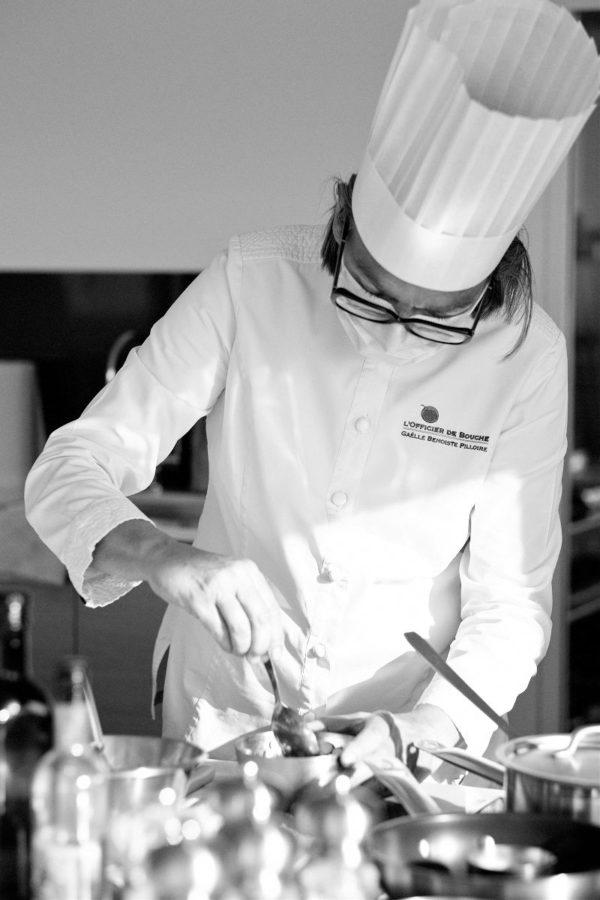 Photographe corporate pour cheffe cuisinière | Studio Gabin - Photographe
